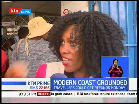 Modern Coast Grounded: Hundred of passengers stranded after NTSA cancelled company\'s license