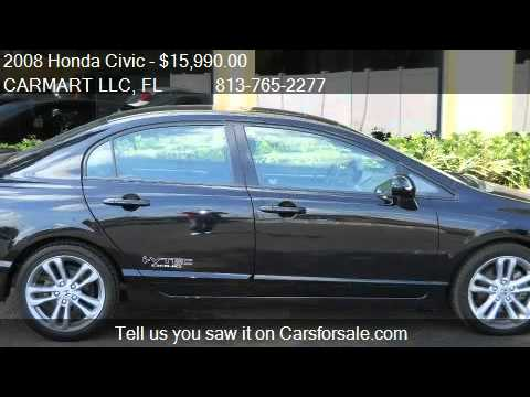 2008 Honda Civic Si Sedan with Performance Tire  for sale i  YouTube