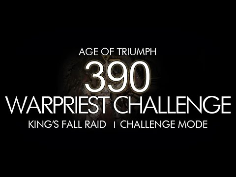 Destiny - 390 Warpriest Challenge Mode Guide - 1 Phase - King's Fall Raid / Age Of Triumph Updated