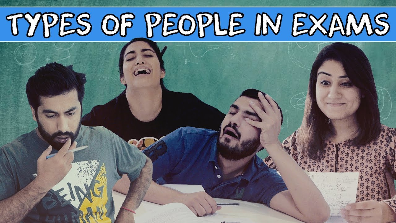 Types of People in Exams | MangoBaaz