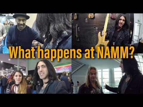 Download Youtube: What the hell is NAMM? 😀 NAMM Show Walkthrough and Tour - Anna Sentina - Marcus Miller (GoPro Vlog)