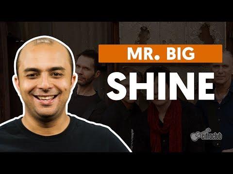 SHINE - Mr. Big (aula de bateria)