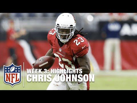 Chris Johnson Highlights (Week 3) | 49ers vs. Cardinals | NFL