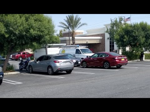 Bank Stand Off Claims Of Bomb Inside Rancho Cucamonga, Ca
