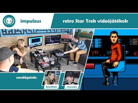 Retro Star Trek videójátékok