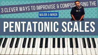 3 CREATIVE ways t๐ Improvise and Practice PENTATONIC Scales