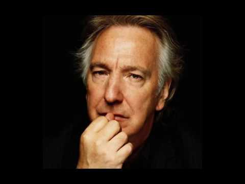 Alan Rickman - My mistress' eyes are nothing like the sun (Sonnet 130)