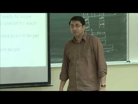 Mod-01 Lec-22 Dynamic scheduling, speculative execution