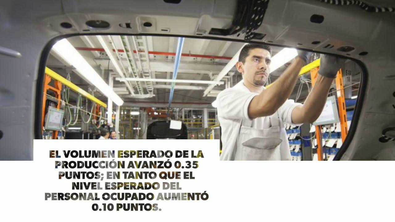 Indicador de Pedidos Manufactureros tuvo un incremento en noviembre