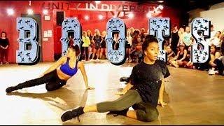 Boots - Kesha | Brian Friedman Choreography | #DancingForPuertoRico