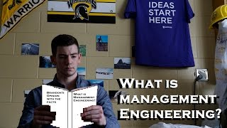 What is Management Engineering?