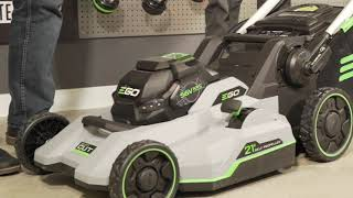 EGO Battery Lawn Mower Product Review - Ace Hardware