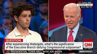 Joe Biden- Executive Branch Defying Congress