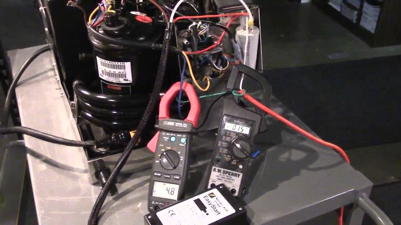 EasyStart air conditioning pressor soft start device  YouTube