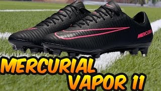 Nike Mercurial VAPOR 11 (Pitch Dark Pack) Review + On Feet