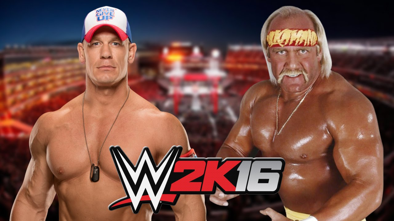 john cena vs hulk hogan youtube