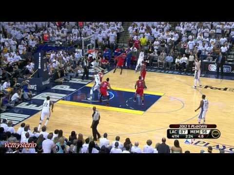 Chris Paul highlights vs Grizzlies Game1 (2012.04.29)