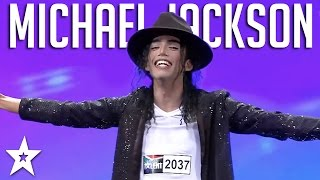 Incredible Michael Jackson Impersonator Wows The Judges | Got Talent Global