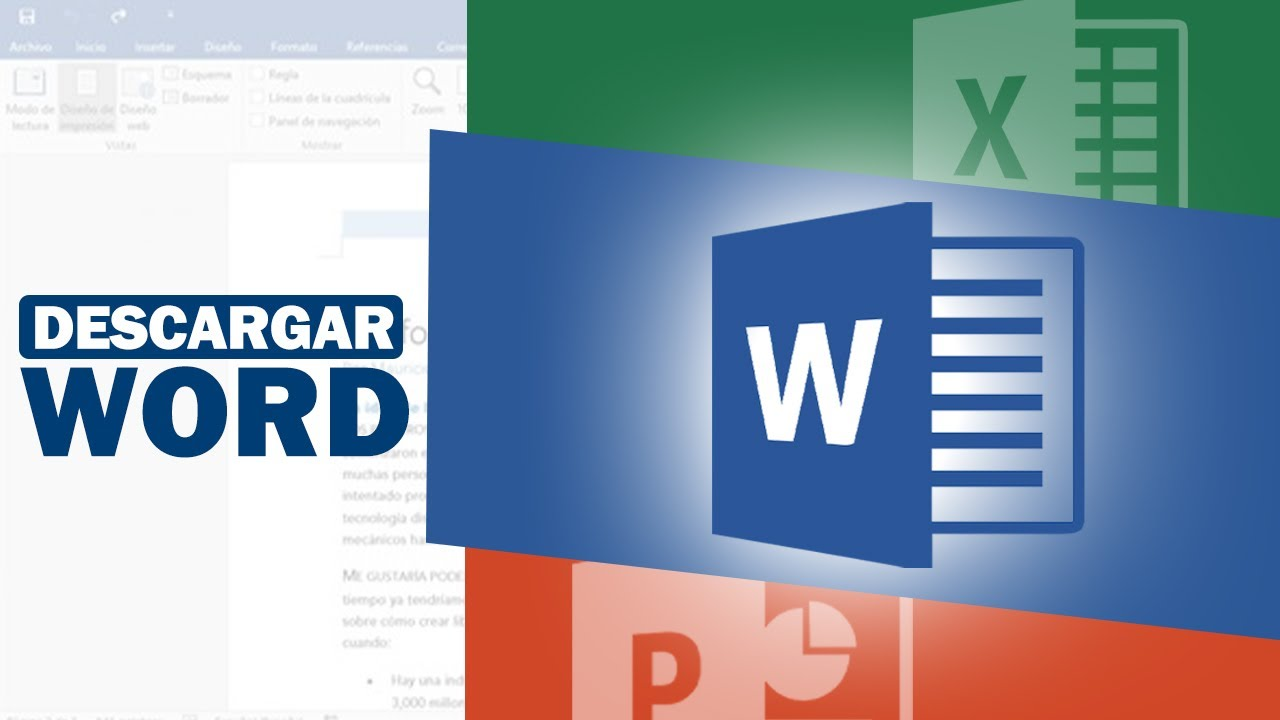 descargar microsoft office word excel powerpoint 2018 2019