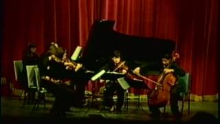 Leonid Treer Plays Shostakovich Piano Quintet Op. 57 - Fugue: Adagio (Part II)