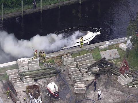 WEB EXTRA: Fort Lauderdale Boat Explosion Injures Several People