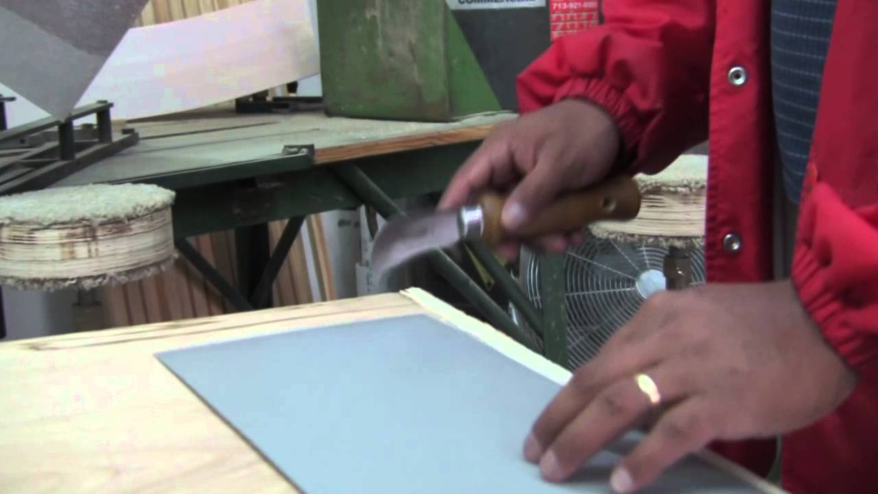 Laminate Countertops Using A Slitter Knife To Cut Laminate Youtube