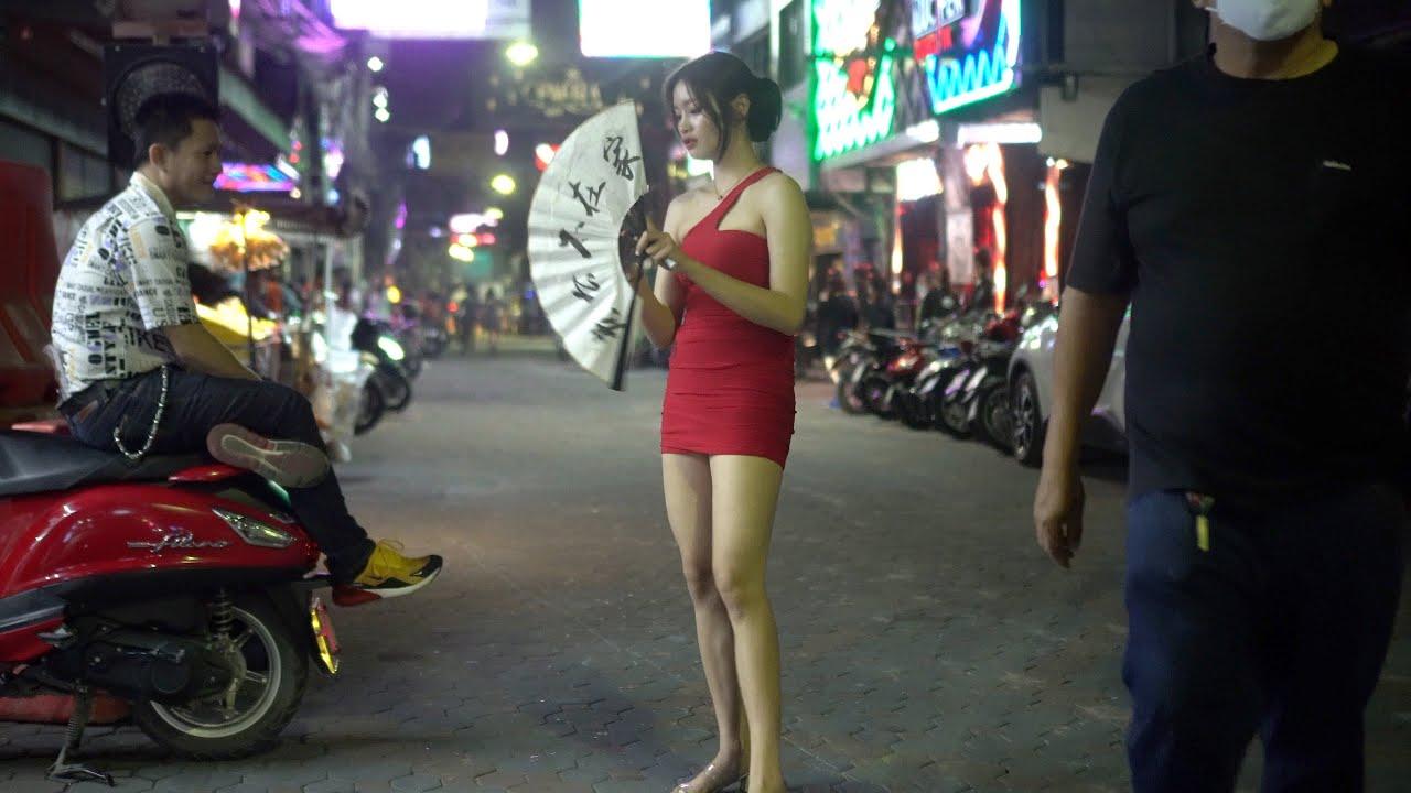 Download [4k] Thailand Pattaya Soi 6 & Walking Street Night Scenes 2021