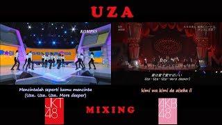 """[TV Show] JKT48 & AKB48 """"UZA"""""""
