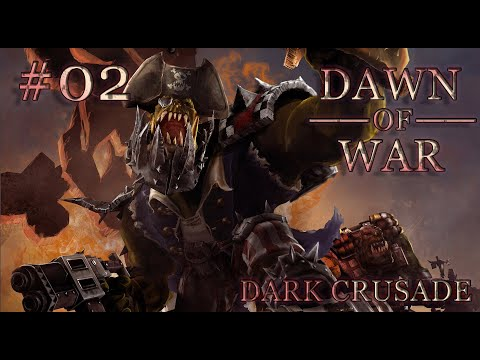 Dawn of War - Dark Crusade. Part 2 - Defeating Space Marines. Ork Campaign. (Hard)