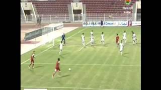 الاولمبي العماني يفوز على نظيره الاماراتي بهدف نظيف.avi