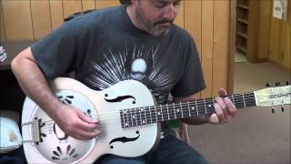 Gretsch Honey Dipper Resonator Guitar