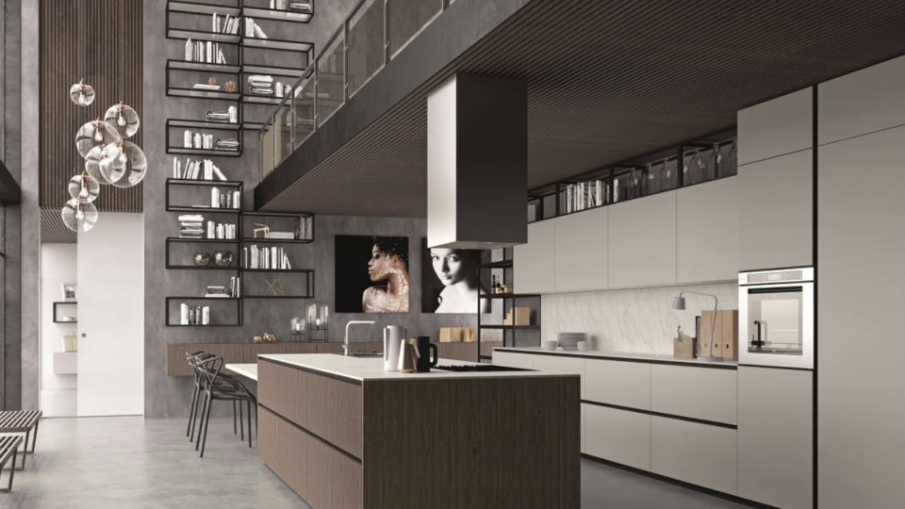 EVOLVE1 - Cucine moderne by Cucinesse - YouTube