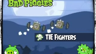 Bad Piggies Radio Control TIE Fighter & Flying Oil Tanker