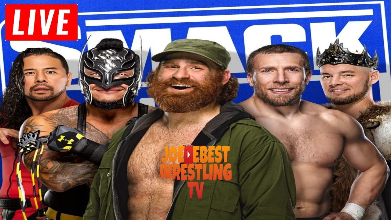 Download Gauntlet Match WWE Smackdown Live Stream January 8th 2021 - Full Show Live Reactions Watch Along