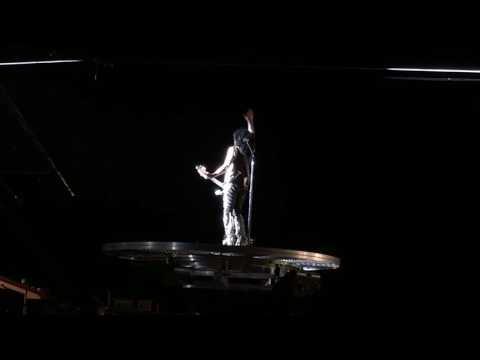 2016 KISS Love Gun - Paul Stanley Flying Allentown Fairgrounds