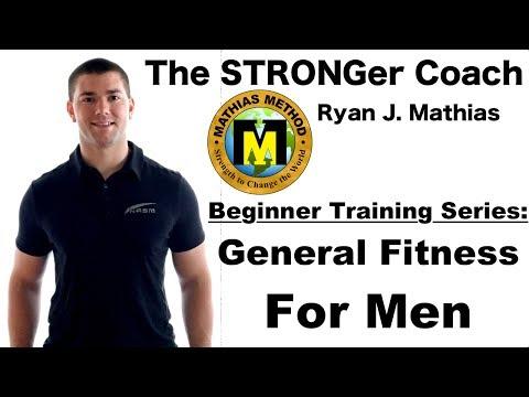 Beginner Training Series: General Fitness For Men