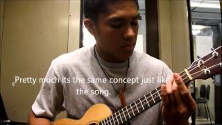 Common Kings, Wade in your water (Ukulele Tutorial) by Kainalu Kamai