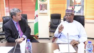 US Trade Development Agency and NCC meet - Discuss Provision of Broadband Infrastructure