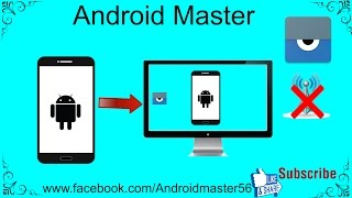How to control android phone from pc computer without internet/ vysor