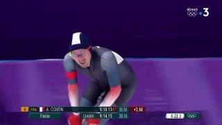 JO 2018 - Contin, la désillusion sur le 5000 mètres de patinage de vitesse à PyeongChang
