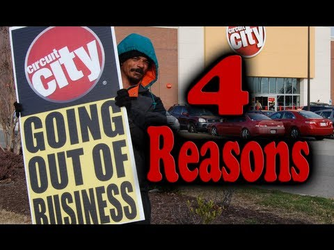 4 REASONS WHY CIRCUIT CITY KILLED THEMSELVES