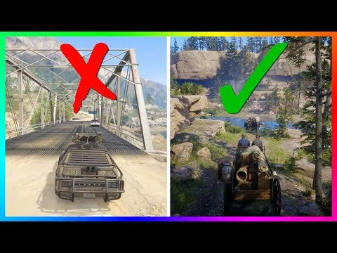 7 Things That Rockstar Did In GTA Online That Needs To Be Left Out Of Red Dead Online!