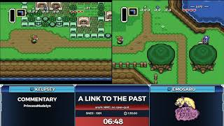 The Legend of Zelda: A Link to the Past by EmoSaru and Kelpsey in 1:45:52 - Frame Fatales 2019