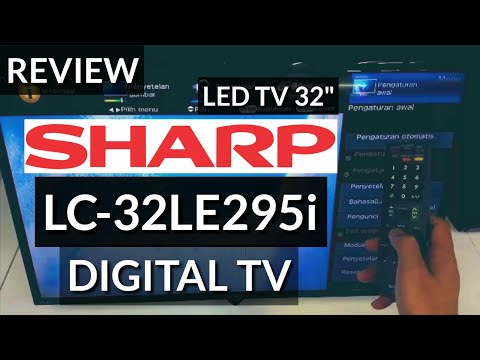 REVIEW SHARP LED LC-32LE295i DIGITAL TV 32 indonesia HD