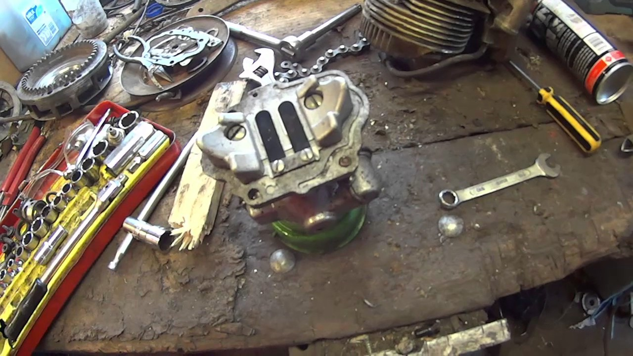 how to convert a 2 stroke vertical shaft engine to horizontal shaft