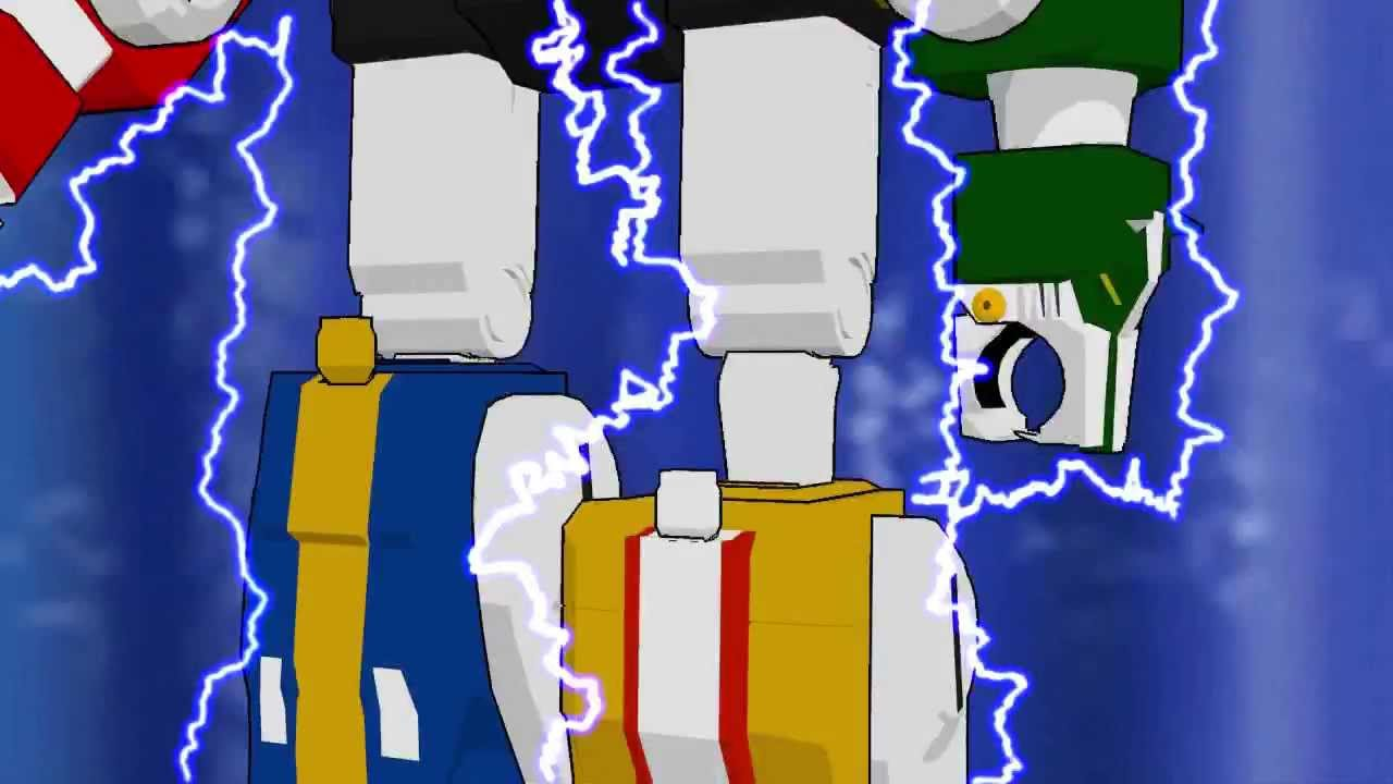 Lets Form Voltron Fanmade 3D Animation(3D Studio Max) - YouTube