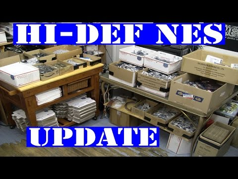 Hi-Def NES update - soldered esd bagged ready to ship Nintendo