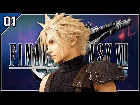 Midgar Crisis - Let's Play Final Fantasy VII Remake Blind Part 1 [Chapter 1 PS4 Gameplay]