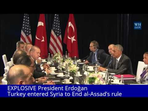 EXPLOSIVE; President Erdoğan of Turkey entered Syria to End al-Assad's rule
