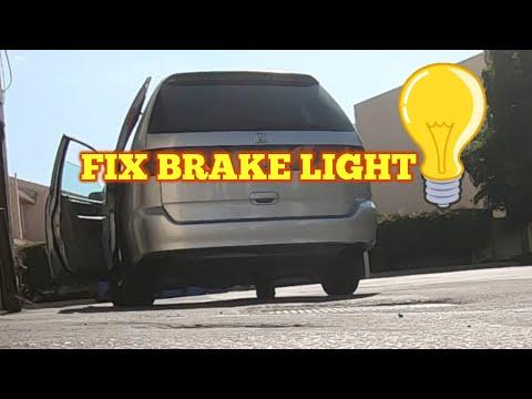 How to Fix a Brake Light Honda Odyssey 1999 -2004 (easy)